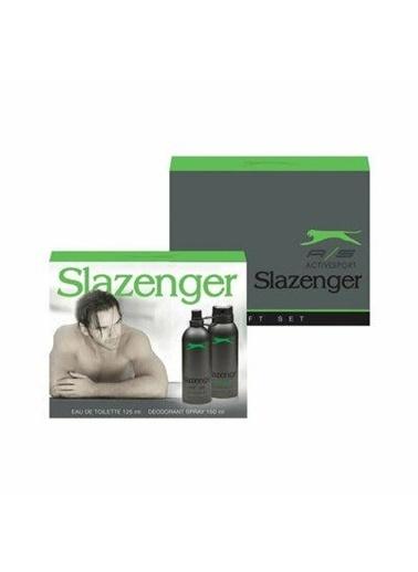 Slazenger Slazenger Yeşil Edt 125Ml+Deo150Ml Erkek Parfüm Set Renksiz